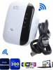 300Mbps Wireless-N WiFi Repeater AP Router Range Signal Exte
