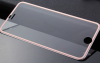 (iPhone 6 Plus) Tempered Glass Rose Gold Full $6