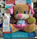 $29.99 FISHER-PRICE SMART STAGES PUPPY M16866